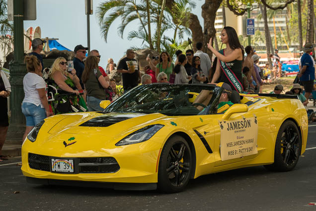 St Patricks Day Parade 2019 Honolulu Hawaii Pictures